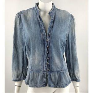 Ralph Lauren Blue Jean Jacket Button Down